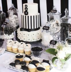 Sweet Buffet Table Little Big Company The Blog Black And White Chic