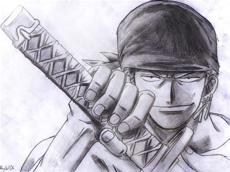 Drawing Zoro by One Zoro By Luffy96 On Deviantart