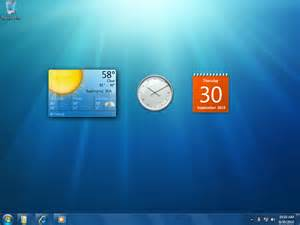 windows 7 all desktop gadgets apps directories