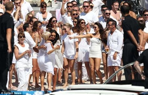 all white boat party miami 2018 post wedding beach party outfits