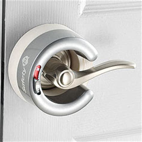 Child Proof Door Knob Covers by Childproofing On Vacation