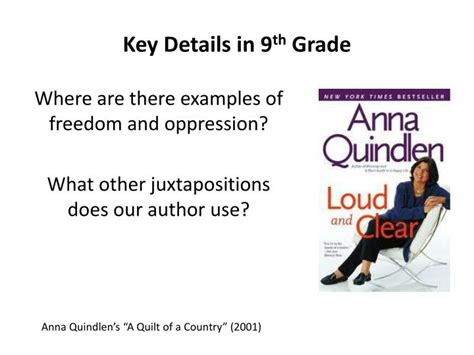 A Quilt Of A Country By Quindlen ppt a quilt of a country by quinlen powerpoint presentation id 6447601