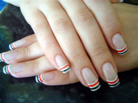 easy nail art french manicure french manicure and nail art ideas fashion trend