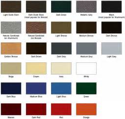 colors of paint standard paint colors matthews bronze international