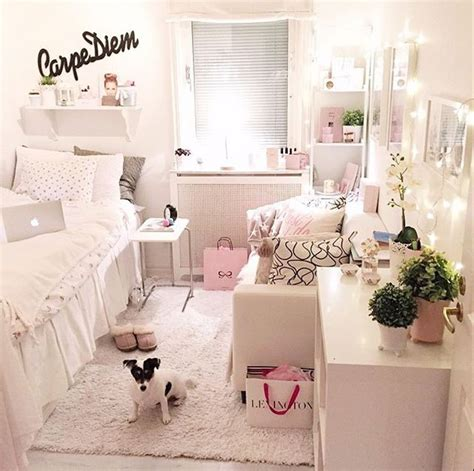 8 Pretty White Accessories pastel pink and white room decor on the hunt