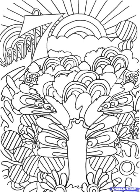Get This Free Trippy Coloring Pages To Print For Adults And The Tr 2 Coloring Pages