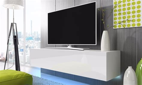 porta tv led mobile porta tv con led groupon