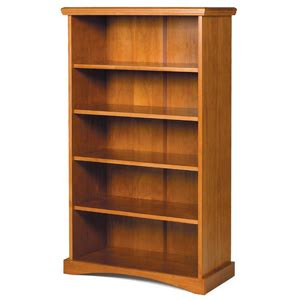solid wood bookcase solid wood pine ridge bookshelf 4118