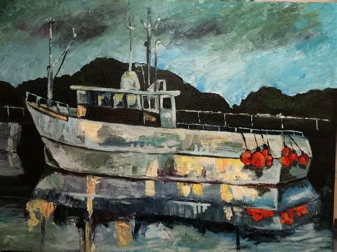 boat canvas long beach 14 best images about new ocean sea scape paintings by jojo