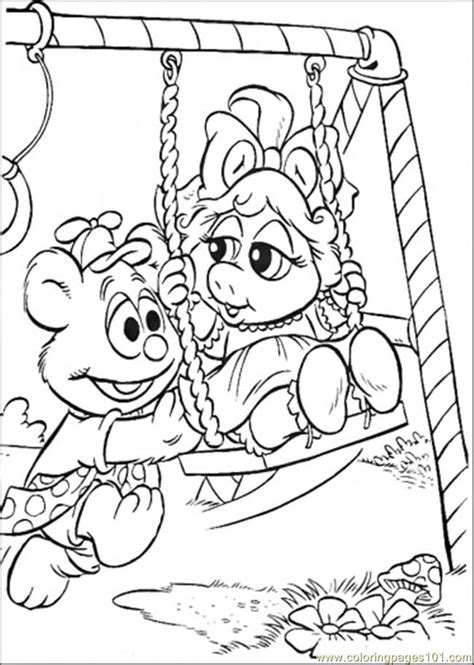 muppet babies coloring page muppets coloring pages coloring home
