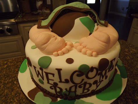 Camo Baby Shower Cakes by Camo Baby Rump Cake Baby Showers