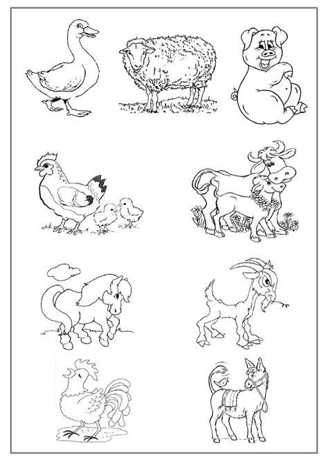 Coloriage Animaux En Anglais