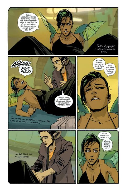 saga book one saga review saga volume 1 comic book daily