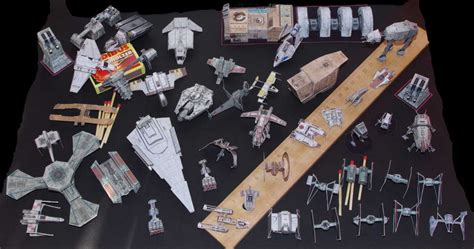 Papercraft Miniatures - wars miniatures the complete collection by