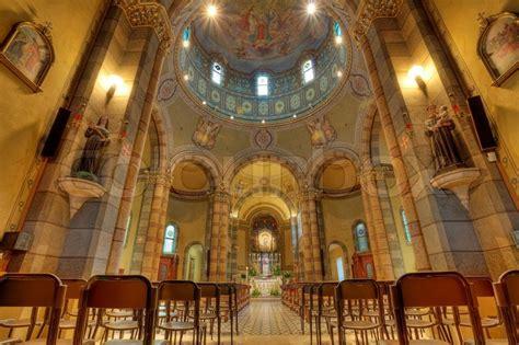 Dome Home Interiors madonna moretta catholic church interior in alba northern