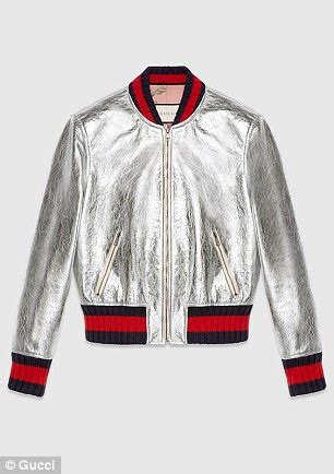design your own baseball jacket uk gucci sues forever 21 for ripping off trademark stripes