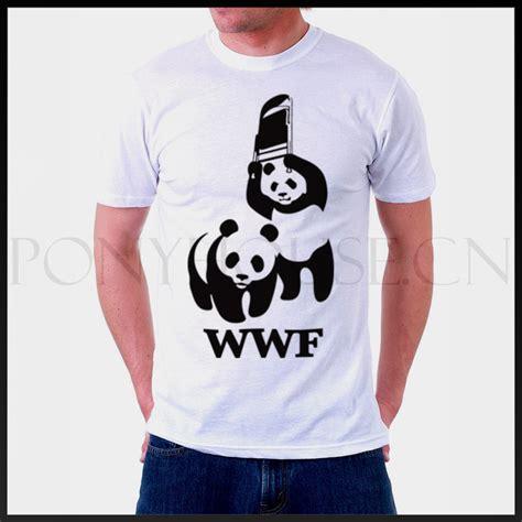 Wwf White Shirt Quality Distro world wildlife foundation wwf t shirt cotton lycra top 6272 fashion brand t shirt new