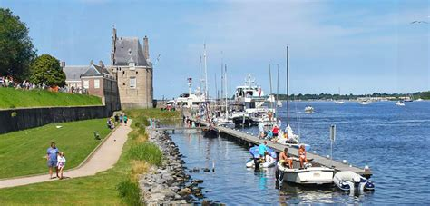 Scenic Town by Day Trip To Southwestern Netherlands Veere Zeeland I
