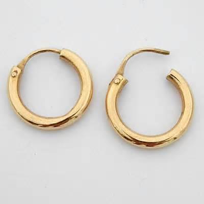 boucles d oreilles or cr 233 oles 89 bijoux anciens or
