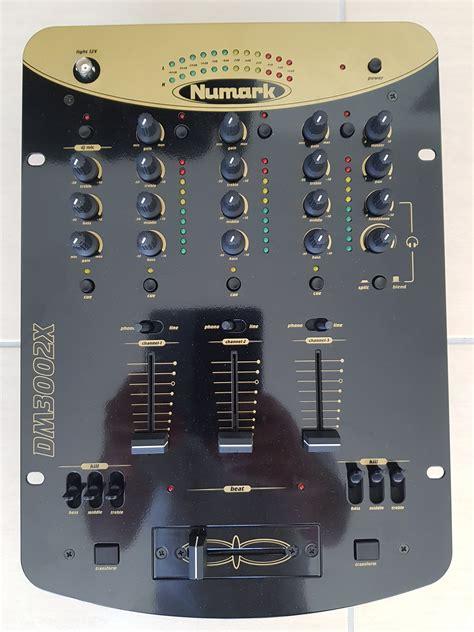 numark console dm3002x numark dm3002x audiofanzine