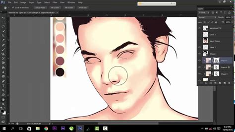 tutorial vector art photoshop cs6 vexel art tutorial using photoshop cs6 masking youtube