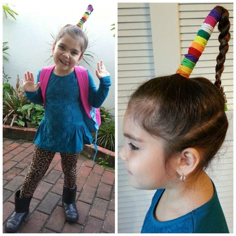 hairstyles for school bad hair day 13 best crazy hair day images on pinterest crazy hair