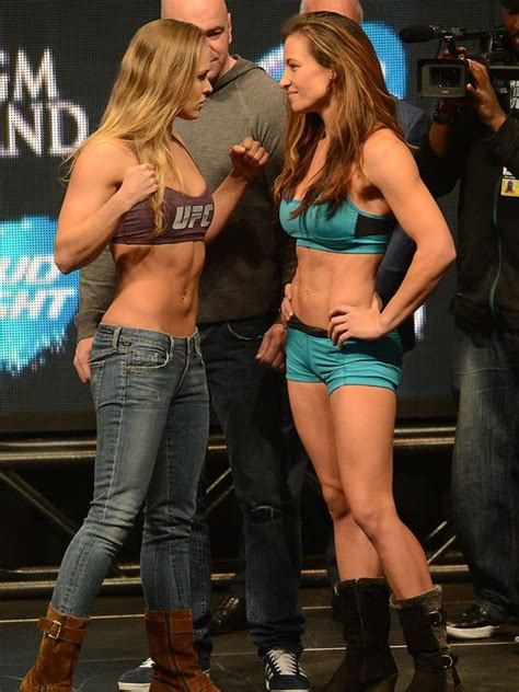 ronda rousey fight hairdo miesha tate mma fighter hairstyle gallery
