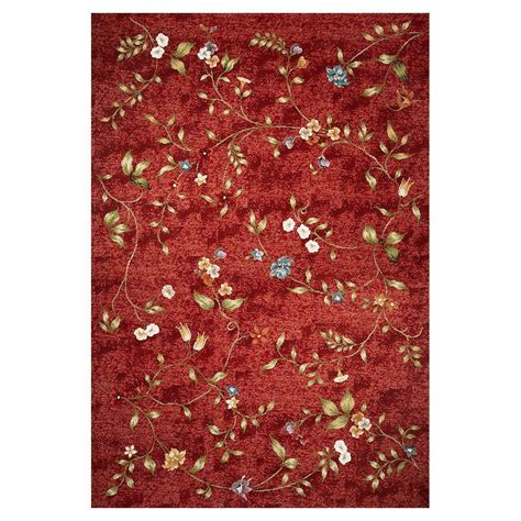 flower of rug kas rugs dainty flower 5 ft 3 in x 7 ft 7 in area rug hor571753x77 the home depot