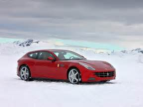 ff car picture on snow car hd wallpaper