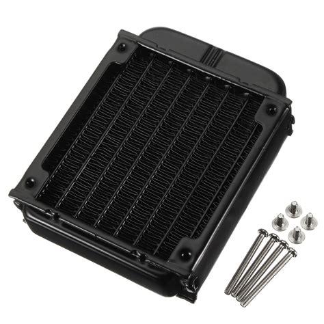Kipas Deepcol Xfan 8cm Black Hydro Bearing other desktop laptop accessories 80mm aluminum computer radiator water cooling cooler fans