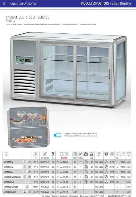 vetrinetta refrigerata da banco vetrinetta refrigerata da banco orizont 100 q 4 10