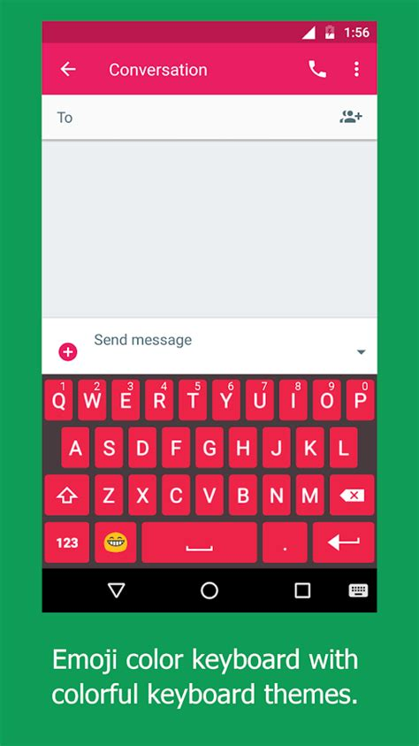 how to get color emoji on android emoji keyboard emoticon emoji color keyboard theme android apps on play