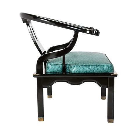 Teal Club Chair by Horseshoe Lounge Chair Rentals Event Furniture Rental