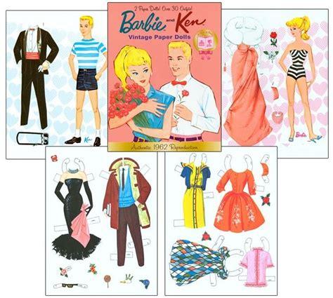 printable ken paper dolls barbie and ken vintage paper dolls reproduction ebay