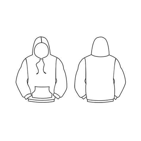 sweater template photoshop image gallery hoodie outline