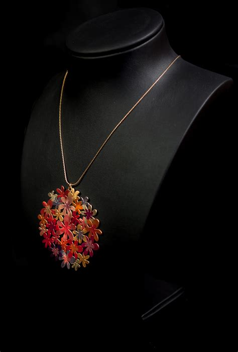 klimt fiori ciondolo secondo gustav klimt giardino in fiori autunno