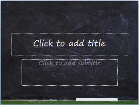 Download Free Classroom Blackboard Whiteboard Etc Powerpoint Backgrounds And Templates At Chalkboard Powerpoint Templates Free