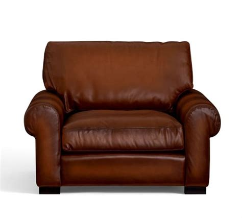 turner leather armchair pottery barn leather sofas and sectionals sale 20 off must have sofas sectionals