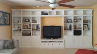 Ikea Hack Built In Bookshelves Built In Ikea Hemnes Hack Ikea Hackers Ikea Hackers