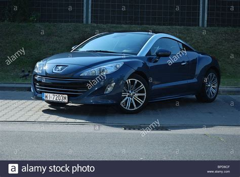 peugeot two door car rcz stock photos rcz stock images alamy
