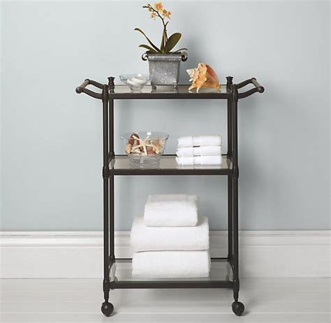bathroom carts newbury rolling bath cart file cabinet pinterest