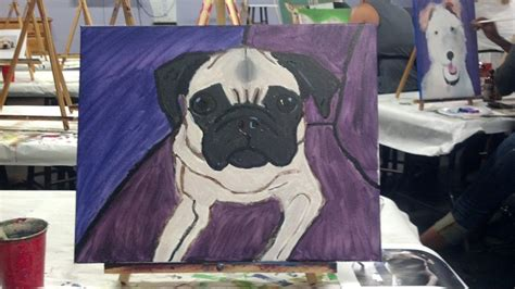 pug craft projects pug purple patch diy crafts