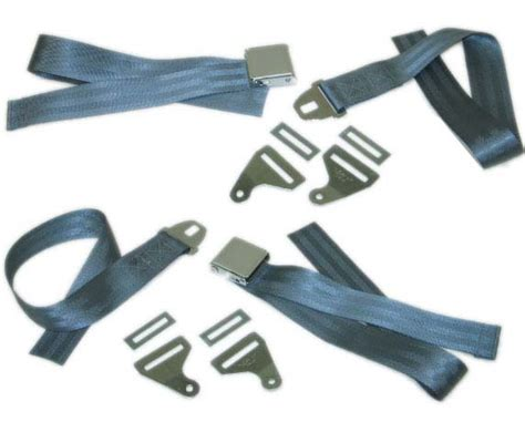 seat belt replacement parts 63 67 corvette seat belt assembly set w mount brackets