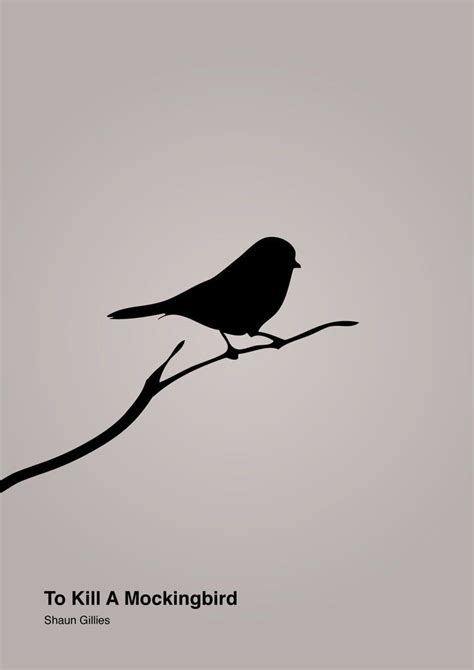 to kill a mockingbird tattoo to kill a mockingbird minimalist by byfutureshaun on