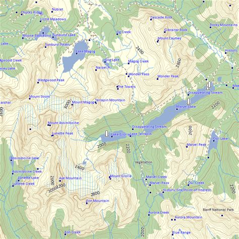 garmin maps canada free soistheman every footstep in the canadian rockies