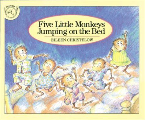 libro five little monkeys jumping crazy speech world book review quot five little monkeys jumping on the bed quot and printables books