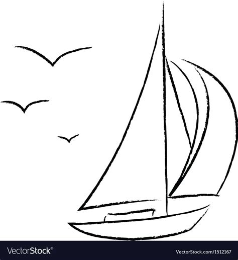 boat clipart outline clipart boat outline graphics illustrations free
