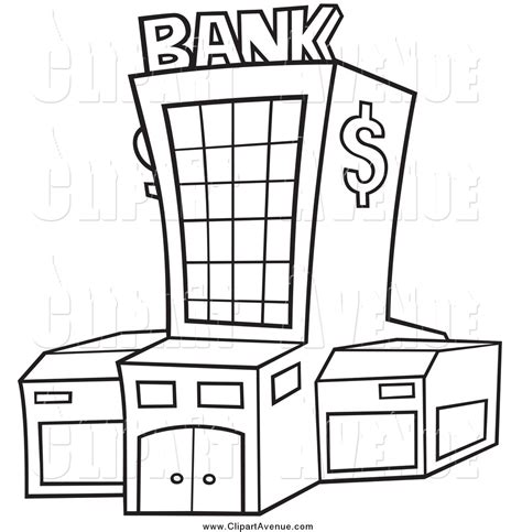 coloring page of bank account coloring pages