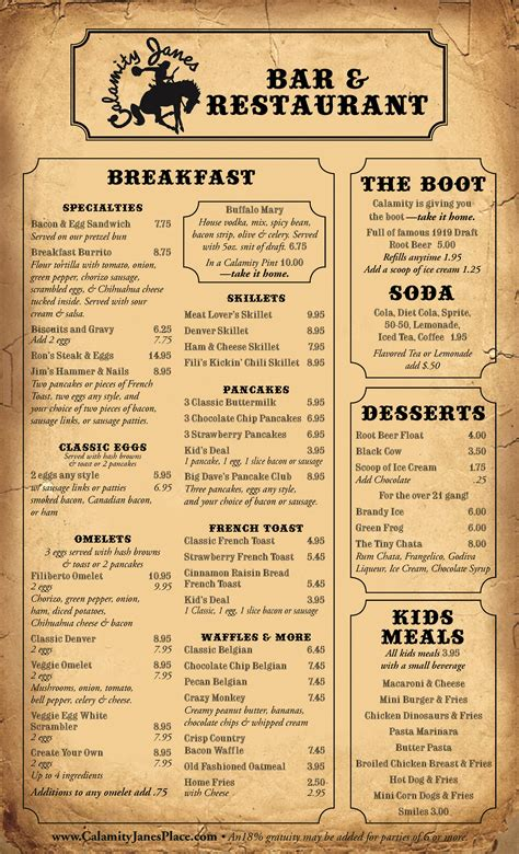 breakfast lunch dinner menu template quotes