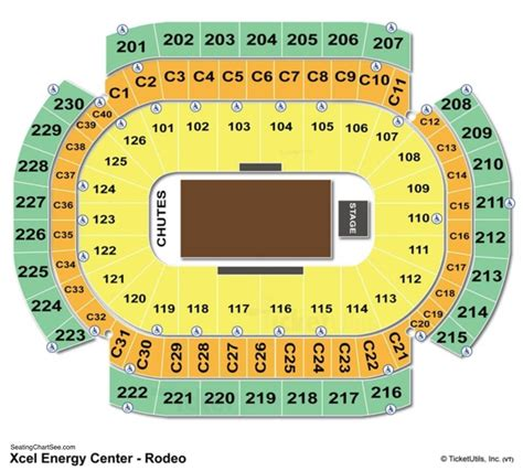 xcel energy center seating map xcel energy center seating chart seating charts and tickets